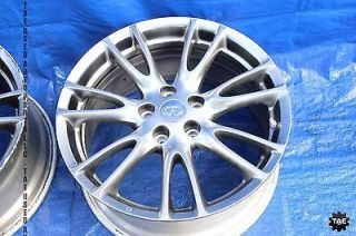 "07 08 Infiniti G35 Type s Sedan Sport Enkei Wheels Rims Set 18"" G35S 7031"
