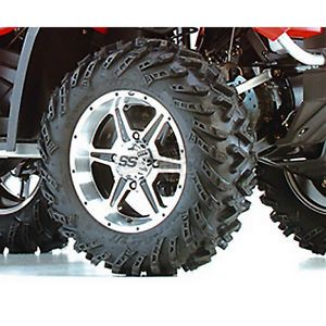 ITP Front Terracross R T XD 26x8x14 Tire Machined SS106 Alloy Wheel Polaris ATV
