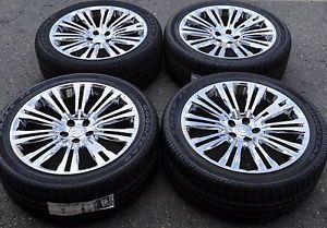 "20"" Chrysler 300 Chrome Wheels Rims Tires Factory Wheels 2013 2014 2420"
