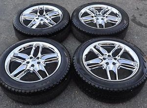 "20"" Ford Edge Chrome Wheels Rims Tires Factory Wheels 2014'"