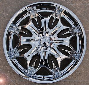 "Incubus Jinx 716 20"" Chrome Rims Wheels Lincoln MKS MKZ MKX"