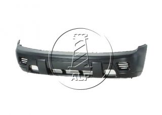 02 09 Chevy Trailblazer Front Bumper Cover LS Lt LTZ w O Fog Light Hole