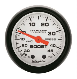 Auto Meter 5708 Phantom Mechanical Boost Vacuum Gauge