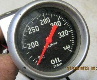 Auto Meter Oil Temp Gauge Nice