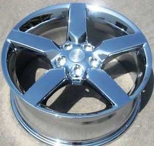 "Set of 4 New 19"" Factory Chevy GM Camaro Chrome Wheels Rims 2010 12 5441"