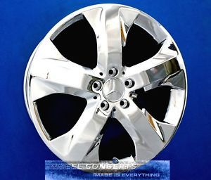 Mercedes ML350 Bluetec 19 inch Chrome Wheel Exchange Ml