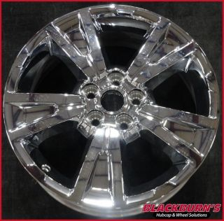 "10 11 12 13 Chevy Equinox 19"" 5x120 Chrome Clad 5 Spoke Wheel Used Rim 5435"