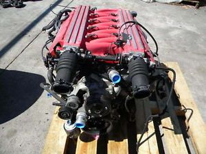 2000 Dodge Viper V10 Engine Motor Damaged for Parts