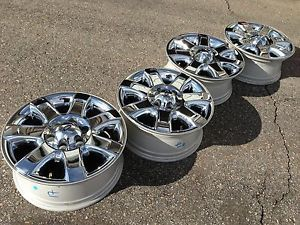 "18"" Ford F150 Expedition Limited Factory Chrome Clad Wheels Rims 2013"