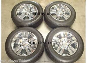 "18"" Toyota Tacoma Limited Chrome Wheels Rims Tires Factory 4Runner Tundra 13"