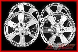 "New 18"" Chevy Tahoe Silverado Z71 Chrome Wheels GMC Yukon Sierra 17 20 RARE"