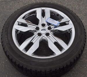 "20"" Ford Edge Chrome Wheels Rim Tire 3847"