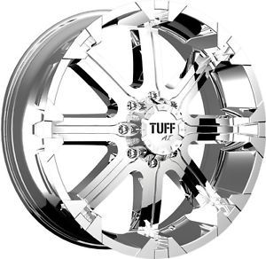"17"" inch 6x5 5 Chrome Wheels Rims 6 Lug Lifted Chevy Silverado 1500 Tahoe Sierra"