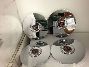 Cadillac Escalade Chrome Center Caps Hub Covers 17 inch Factory OE Wheels Rims