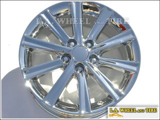 "Set of 4 New Chrome 17"" Toyota Camry Factory Wheels Rims Avalon 69603"