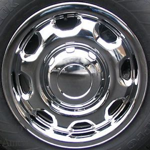 "Ford F150 Chrome Wheel Skin Covers Iwcimp 80x Caps 17"" Four 4 Piece 2010 2012"