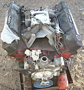 Mopar Dodge Chrysler 383 Engine Motor Dated 1965 Big Block Motor Engine