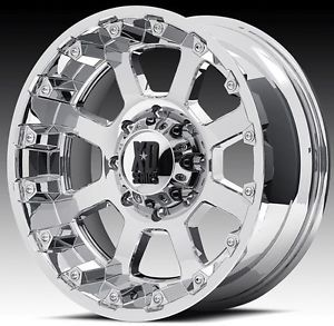 18 inch 18x10 XD Chrome Wheels Rims 5x150 Toyota Tundra Sequoia Lexus LX470