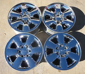 "GMC Sierra Denali Yukon Yukon XL 18"" Chrome Wheels Caps 5418"
