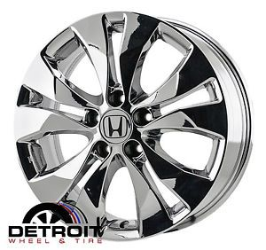 "17"" Honda CR V PVD Bright Chrome Wheels Rims 2012 2013 64040"