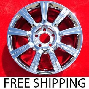 "Set of 4 New Chrome Lincoln MKZ 17"" Factory Wheels Rims 3805"