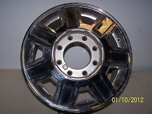 Cadillac cts Limo Factory 17 inch Chrome 7 Spoke Wheel Rim Used 8x165mm