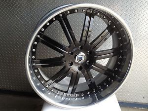 "24"" asanti AF134 Carbon Fiber Centers Wheels Rims 3 Piece Escalade Silverado GM"