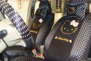 Hello Kitty Car Seat Covers