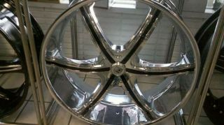 "26"" Lexani LX 6 Wheels Tire Dub Forgiato asanti MHT"