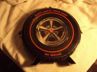 Vintage Hot Wheels Redlines Rally Case 12 Car Tire 1967 Mattel 1968