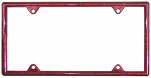 Ruby Red Glitter Auto License Plate Frame Bling Gifts