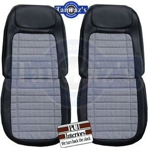 1968 Camaro Houndstooth Deluxe Front Rear Seat Covers