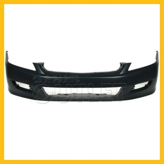 2006 2007 Honda Accord Coupe Front Bumper Cover Capa Primered Plastic 4CYL LX V6
