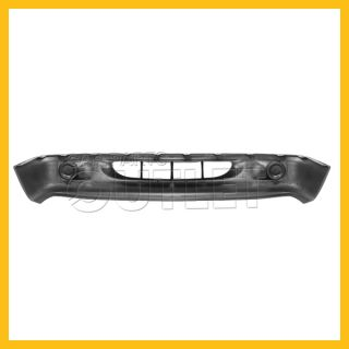 1997 2000 Dakota Front Bumper Lower Cover 98 00 Durango Primered Black w O Fog