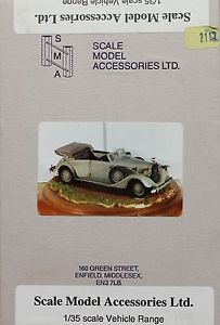 Scale Model Accessories 1 35 Kit 112 Mercedes Benz 320 Cabriolet Staff Car