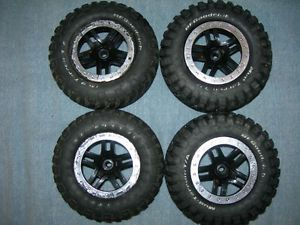 Traxxas Slash 2WD Ford Raptor Wheels BF Goodrich Tires 1 10 RC Radio Controlled