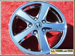 "Set of 4 New 16"" Honda Accord Chrome Wheels Rims Odyssey Civic Prelude 63857"