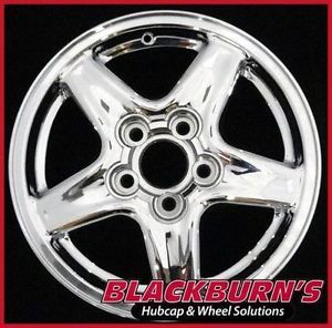 "97 98 99 Chevy Camaro 16"" Chrome 5 Spoke Wheel Used Factory Rim 5056 190270"