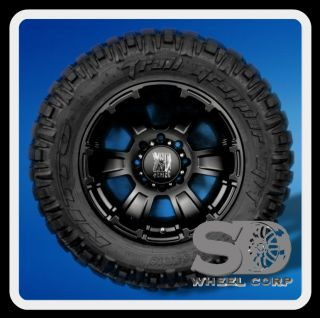 "18"" XD Revolver Black with 285 65 18 Nitto Trail Grappler MT Tires Wheels Rims"