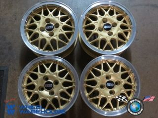"Four 88 05 Honda Civic BBs 14"" Wheels Rims 14x6 5 4x100 RA332 Gold"