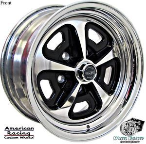 15x7 15x8 American Racing Aluminum VN500 Wheels in Stock Dodge Super Bee 1969