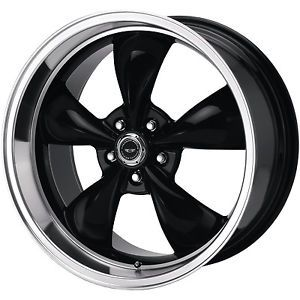 18x10 Black American Racing Torq Thrust M Wheels 5x4 5 45 Ford Mustang