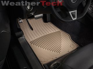 Weathertech® All Weather Floor Mats Mercedes Benz SL Class 2003 2012 Tan