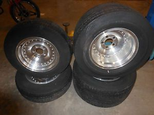 American Racing Chevy Outlaw Centerline Type Wheels Tires Camaro Chevelle GM Etc