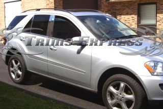 06 10 Mercedes ML350 ML500 ML550 Chrome Pillar Post