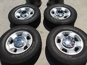 "17"" Ford F250 F350 Factory Wheels Tires Rims BFGoodrich 3829"