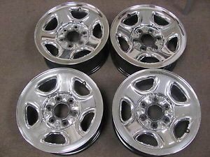 "Chevy GMC Truck Van 16""6LUG Factory Chrome Wheels Rims 5129"