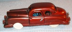Vintage 1950's Renwal No 90 Plastic Sedan Toy Car with Spare Tire