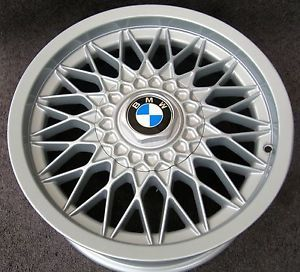 BMW E28 M5 Factory BBs RG M5 Forged Wheels Rims 16x7 5 Fully Restored