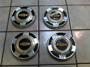 1970's 1980's Chevy Truck Hubcaps Chevrolet Hub Caps Wheel Covers
